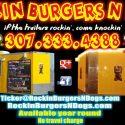 Rockin Burgers N Dogs, if the trailers rockin, come knockin!