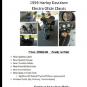 Harley 1999 Electra Glide Classic
