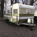 1977 kit companion bumper pull camp trailer