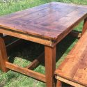 Beautiful Handcrafted Farmhouse Dining Room Table