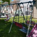 Free 6 piece Swingset w/ Slide (Must pickup)