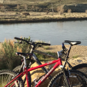 Red Raleigh Mountain Bike stolen