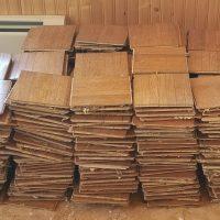 Free used parquet flooring